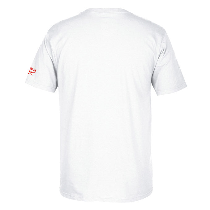 UFC Conor McGregor Fan Gear Red Tiger Graphic Crew T-Shirt - White