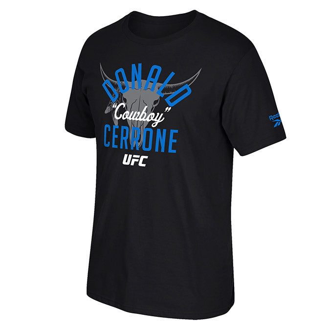 UFC Donald Cerrone Fan Gear Outlaw Short Sleeve Crew T-Shirt -Black