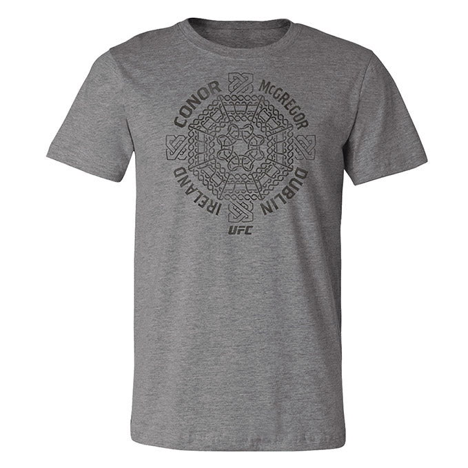 Men's Conor McGregor Celtic Cross T-Shirt - Deep Heather