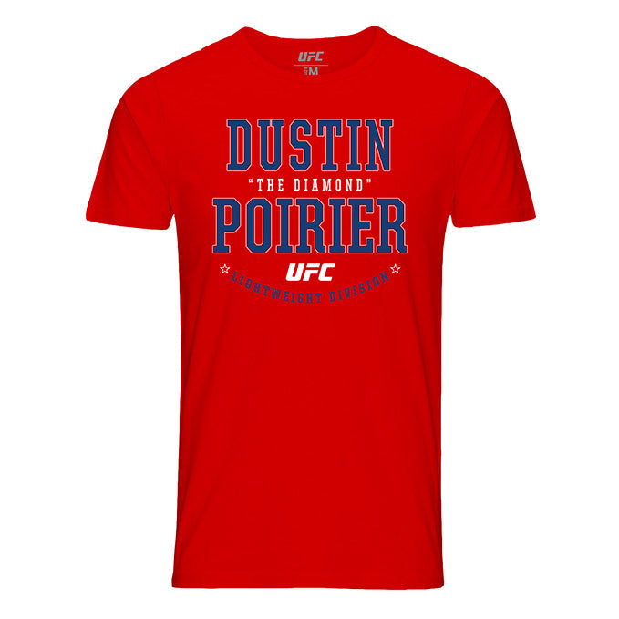 "Dustin ""The Diamond"" Poirier Color Graphic UFC T-Shirt"