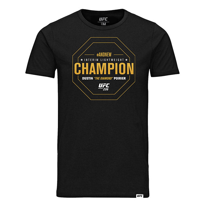 "UFC 236 Interim Lightweight Champion Dustin ""The Diamond"" Poirier T-Shirt"