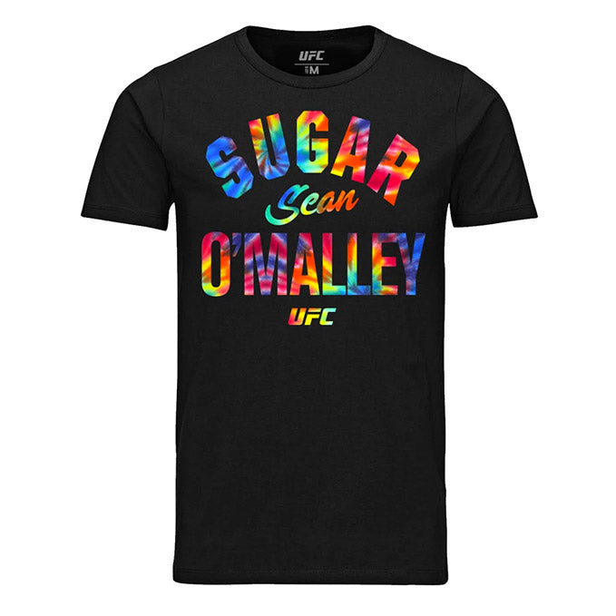 "Men's UFC Sean ""Sugar"" O'Malley Multi Graphic T-Shirt - Black"