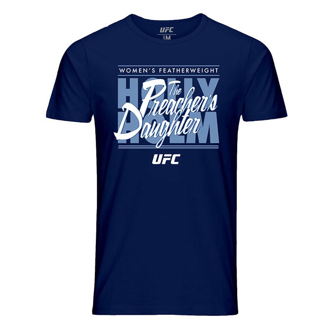 "Men's UFC Holly ""The Preacher's Daughter"" Holm Graphic T-Shirt - Navy"