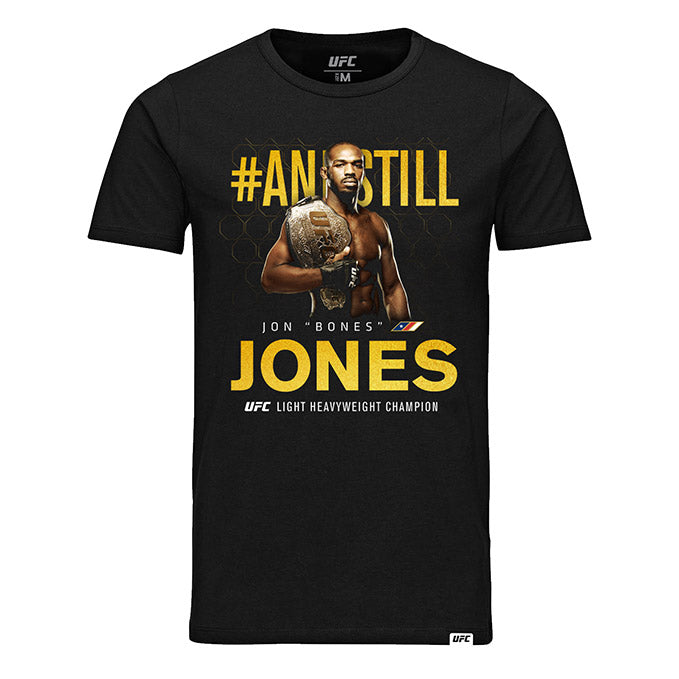 UFC 239 Jon Jones #ANDSTILL Champ T-Shirt - Black