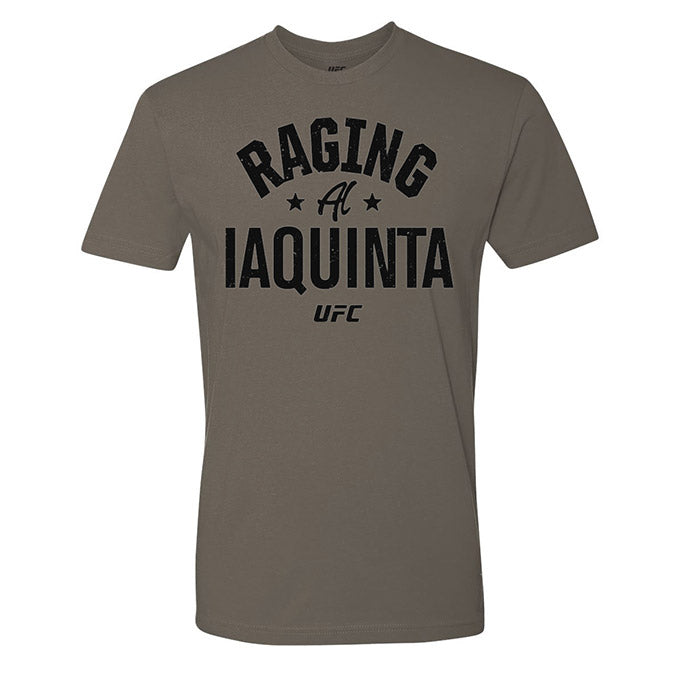 "Men's UFC ""Raging"" Al Iaquinta Old School T-Shirt - Charcoal"