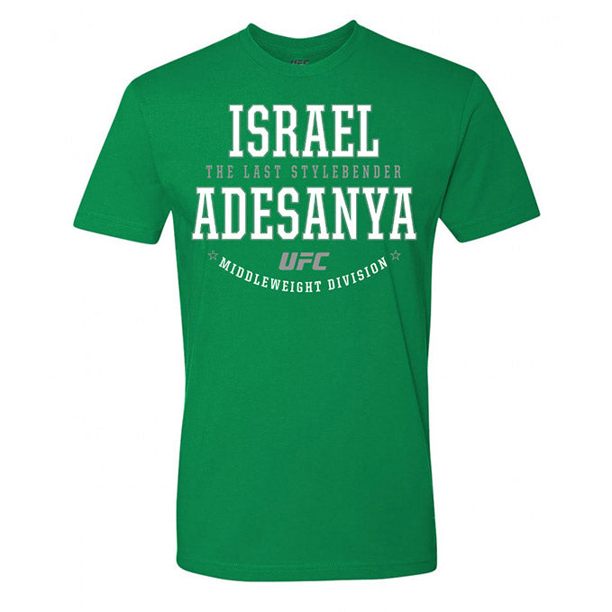 "Israel ""The Last Style Bender"" Adesanya Graphic UFC T-Shirt"