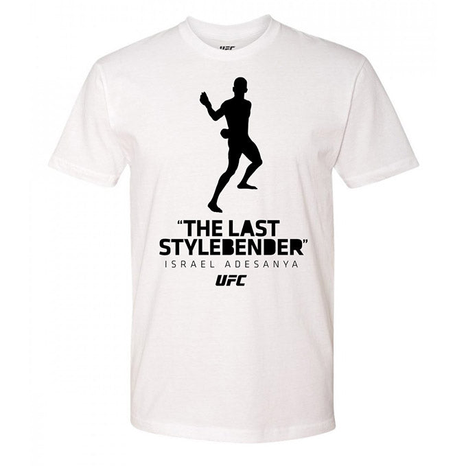 "Israel ""The Last Style Bender"" Adesanya Silhouette UFC T-Shirt"