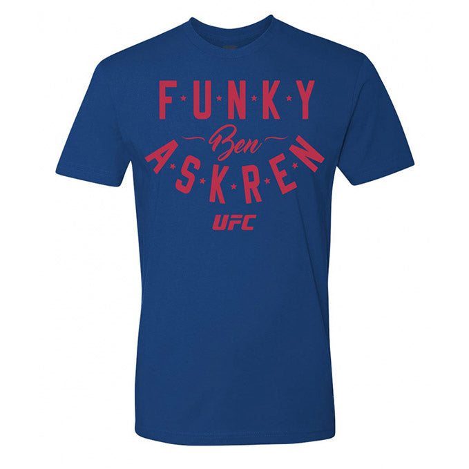 "Men's UFC Ben ""Funky"" Askren Graphic T-Shirt - Blue"