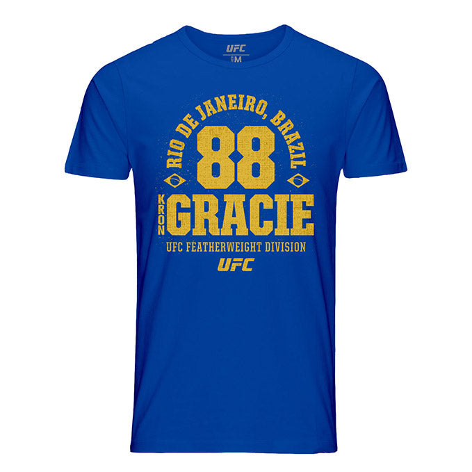 Men's UFC Kron Gracie Established T-Shirt - Royal Blue