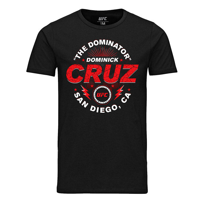 "Men's UFC Dominick ""The Dominator"" Cruz Graphic T-Shirt - Black"
