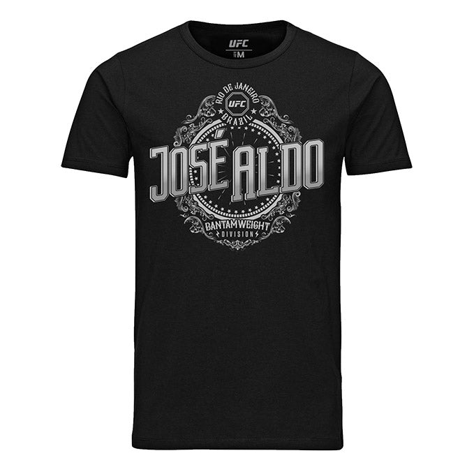 Men's UFC José Aldo Crest T-Shirt - Black
