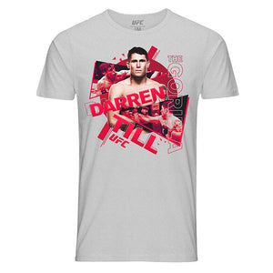 "Men's UFC Darren ""The Gorilla"" Till Collage T-Shirt - Grey"