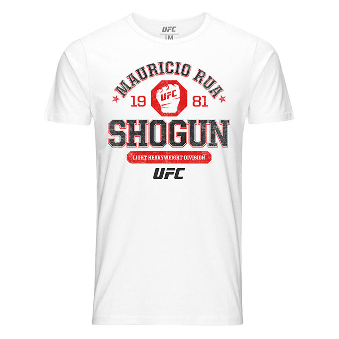 "Men's UFC Mauricio ""Shogun"" Rua Octagon Fist T-Shirt - White"
