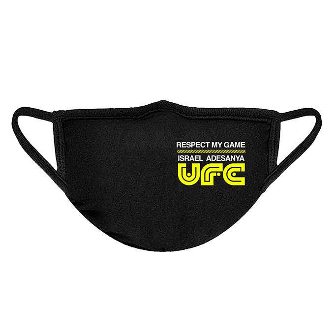 UFC Israel Adesayna Respect Collection Face Covering