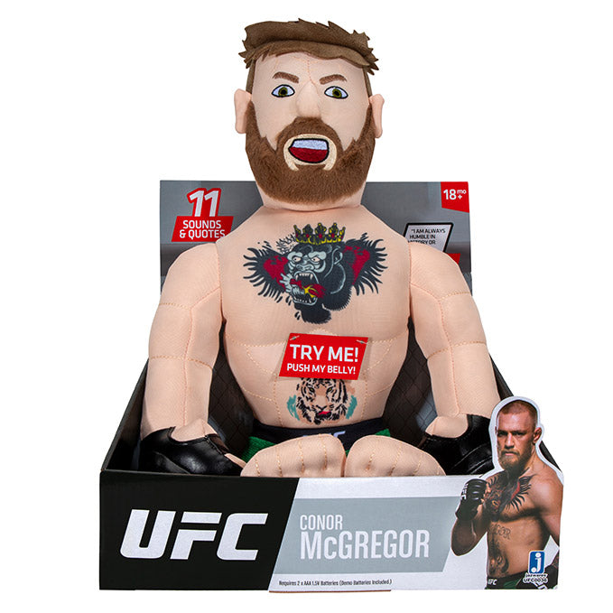 UFC Conor McGregor Plush Toy with Sound Effects