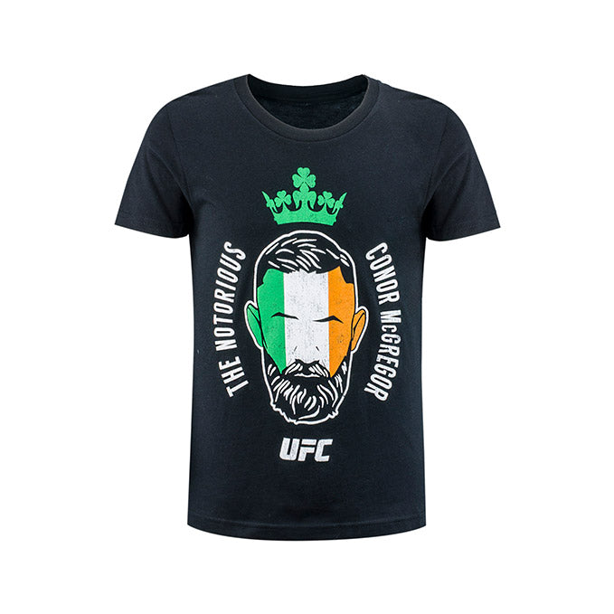 Kid's UFC Conor McGregor Flag T-Shirt