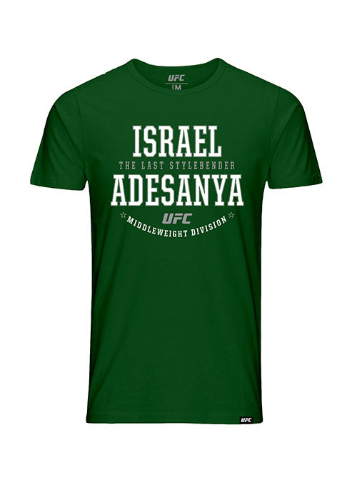 "Kid's Israel ""The Last Style Bender"" Adesanya Graphic UFC T-Shirt"