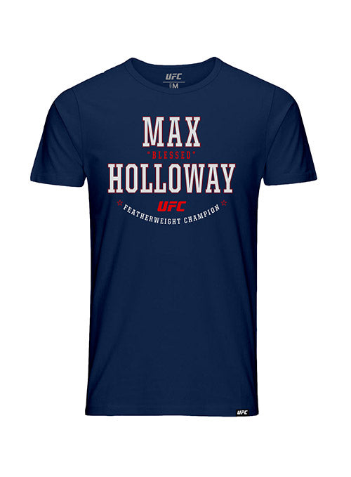 "Kid's Max ""Blessed"" Holloway Solid Graphic UFC T-Shirt"
