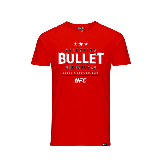 "Kid's Valentina ""Bullet"" Shevchenko Graphic T-Shirt - Red"
