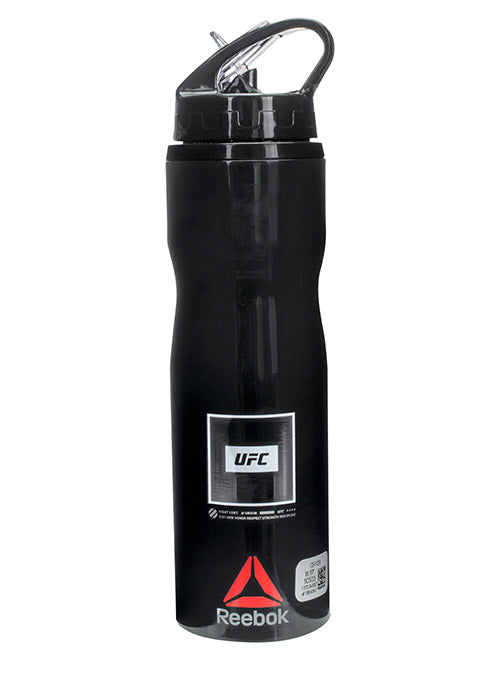 UFC Black/White Water Bottle