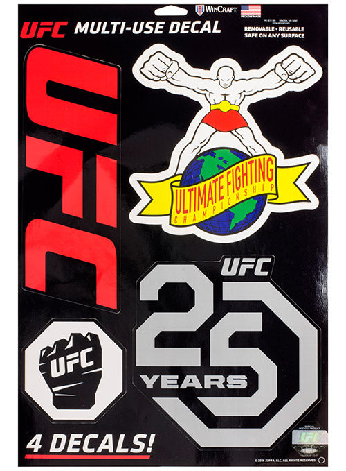 UFC 4 Decal Sheet