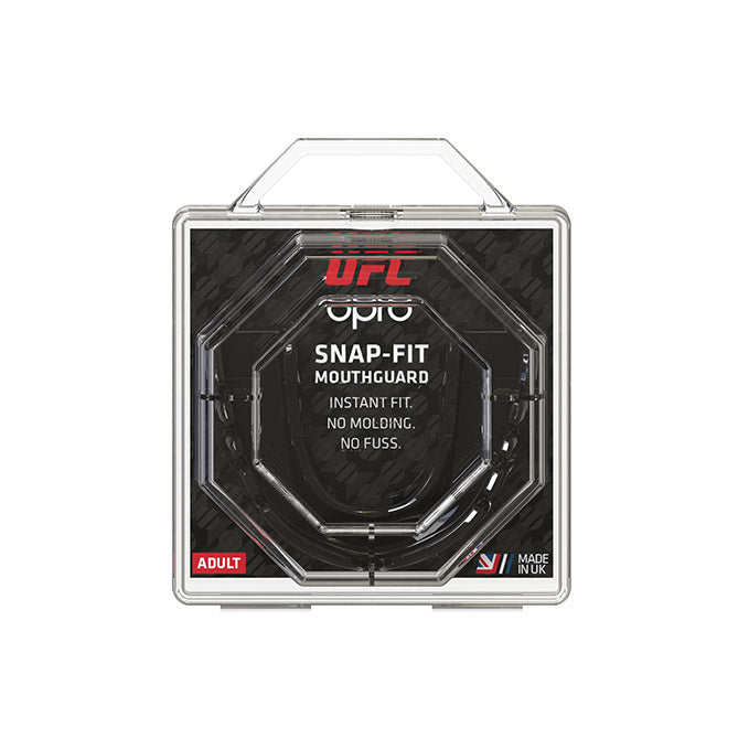 OPRO Black UFC Snap Fit Mouth Guard