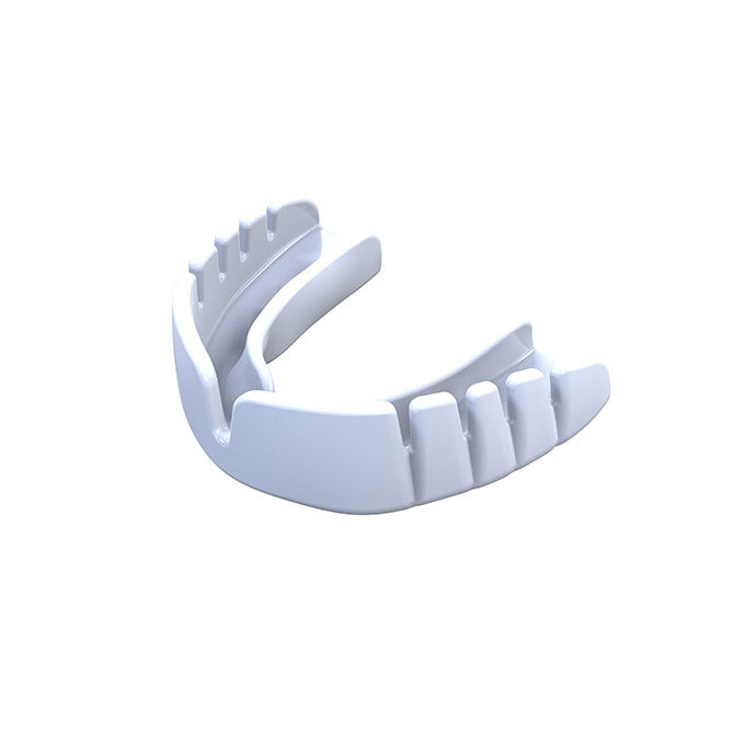Kid's OPRO White UFC Snap Fit Mouth Guard