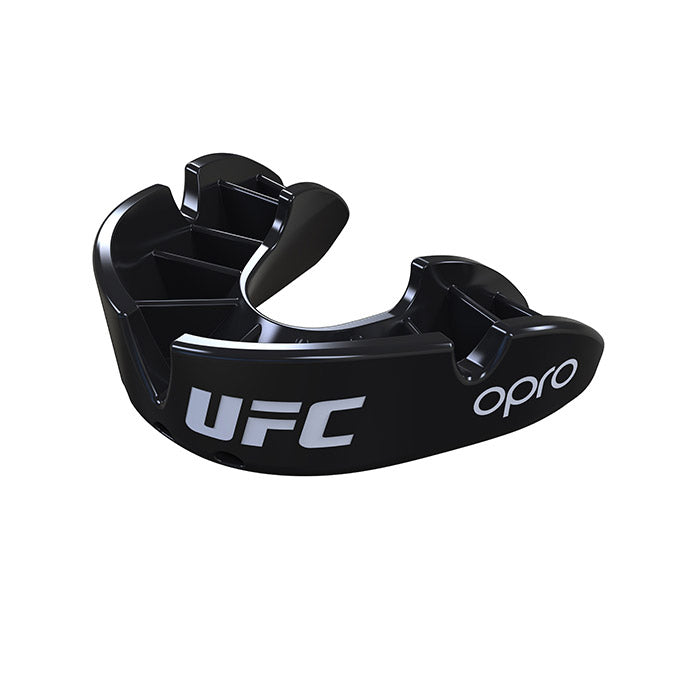 OPRO Black UFC Bronze Mouth Guard
