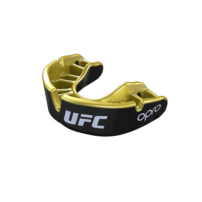 Kid's OPRO Black/Gold UFC Gold Mouth Guard