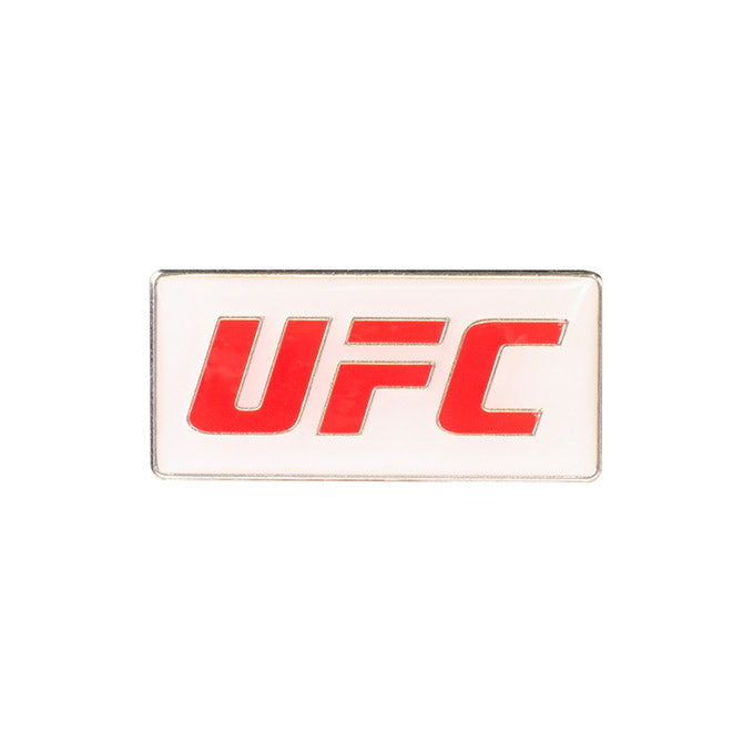 UFC White Lapel Pin