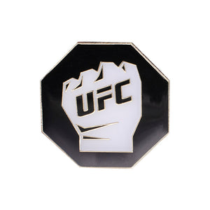UFC White Glove Octagon Lapel Pin