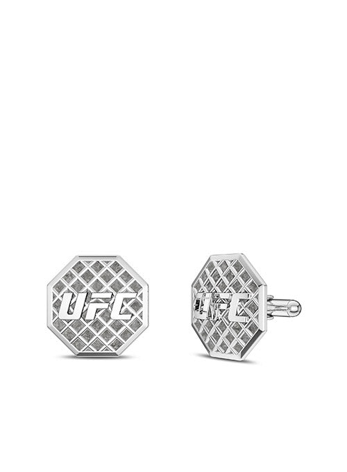 UFC Octagon Cuff Links in Sterling Silver