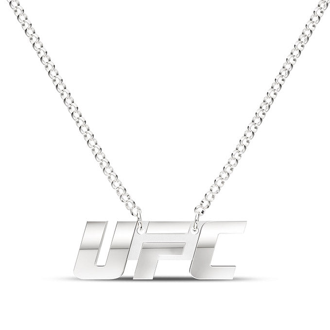 UFC Classics Signature Logo Necklace in Sterling Silver