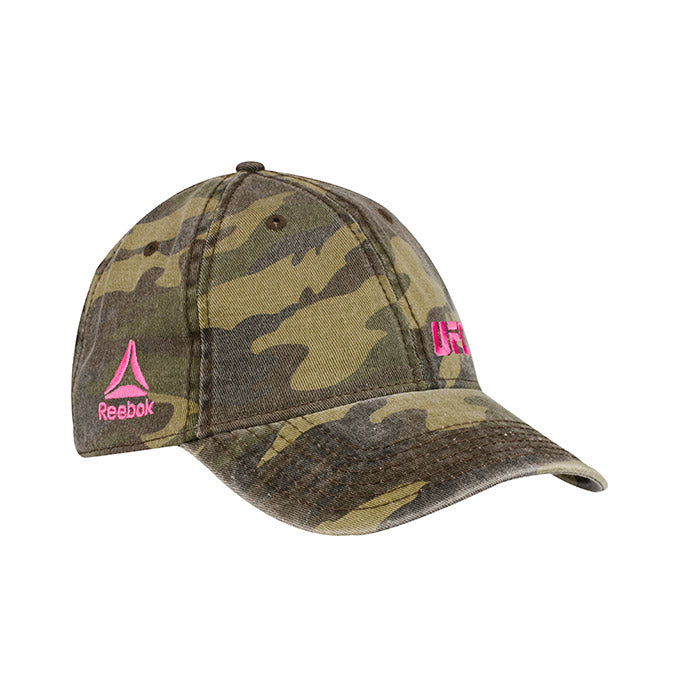 UFC Reebok Women's Camo Adjustable Cap