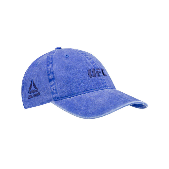 UFC Reebok Women's Micro Logo Light Blue Adjustable Cap