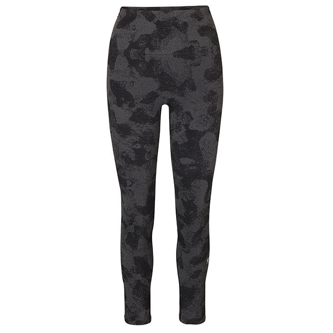 UFC Gym Women's Seamless Black Camo Highwaist Legging