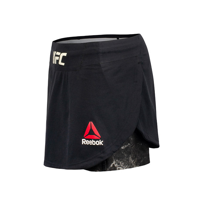 Women's Reebok Black UFC Fight Night Octagon Skort
