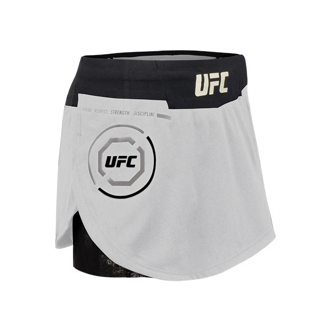 Women's Reebok Grey UFC Fight Night Octagon Skort