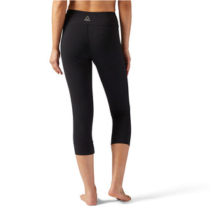UFC Womens Reebok LUX 3/4 Tight -Black