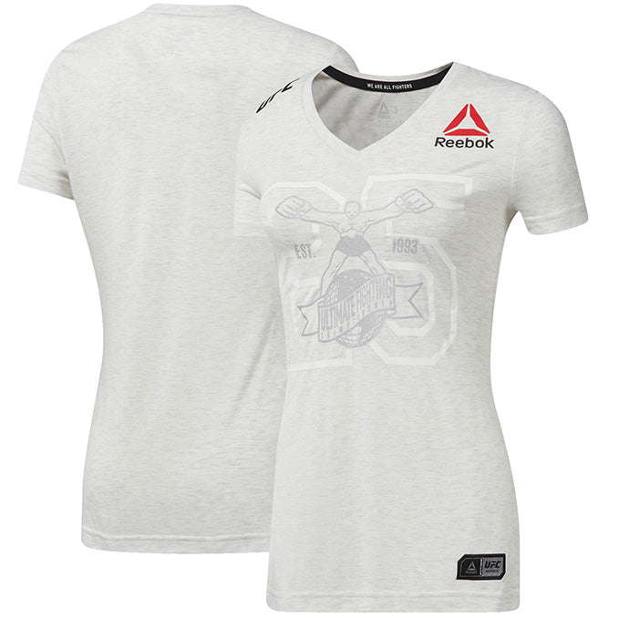 Women's Reebok Chalk Authentic UFC Fight Night 25th Anniversary Walkout Jersey