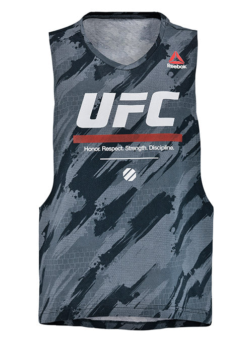 Women's Reebok Black UFC Fan Tank Top