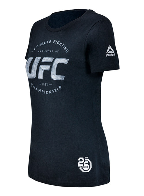 Women's UFC Artist Series T-Shirt - Black/Silver
