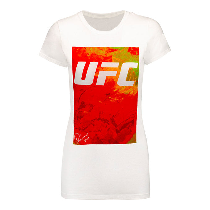 Women's UFC BP Artist Series Orange T-Shirt