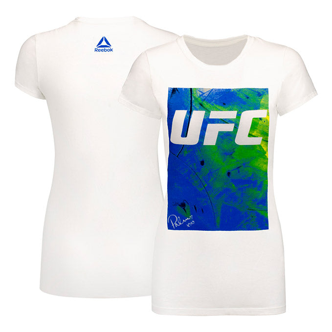 Women's UFC BP Artist Series Blue T-Shirt