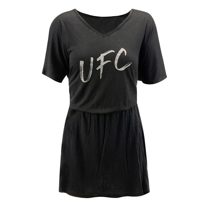 Women's UFC Drop Tail V-Neck Dress