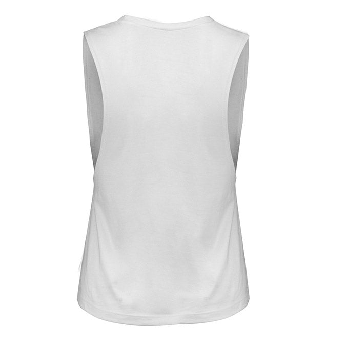 Women's UFC Reebok Vertical Marble Flag Muscle Tank Top
