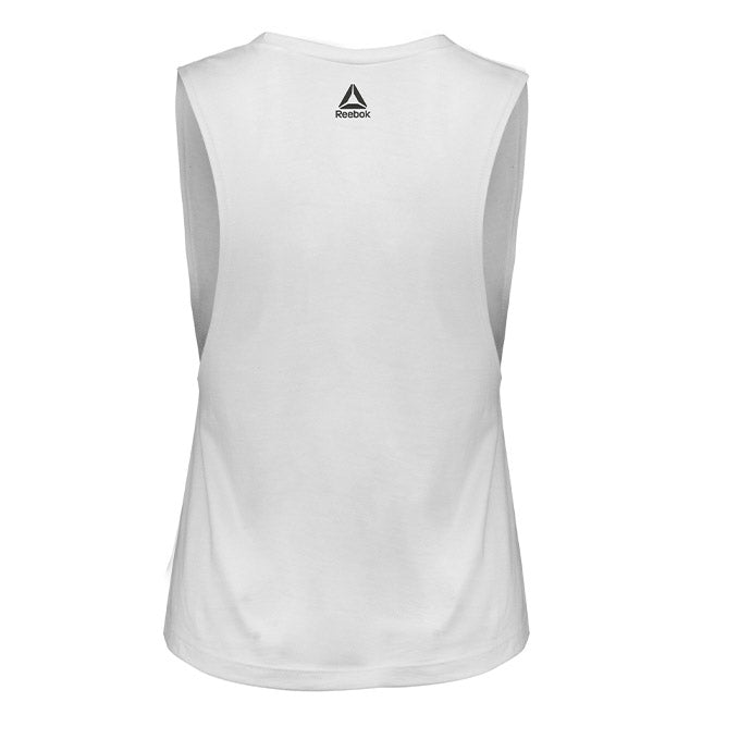 UFC Women's Artist Series Puff Muscle Tank - White