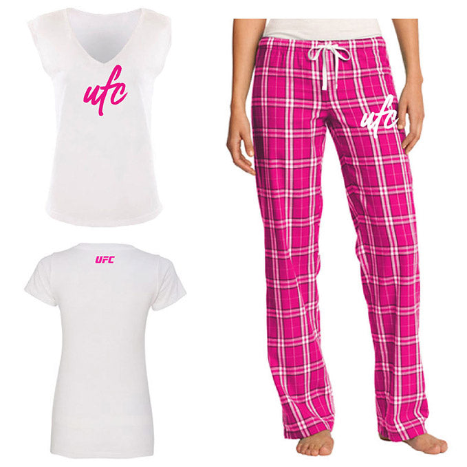UFC Women's Pajama Shirt/Pant Set