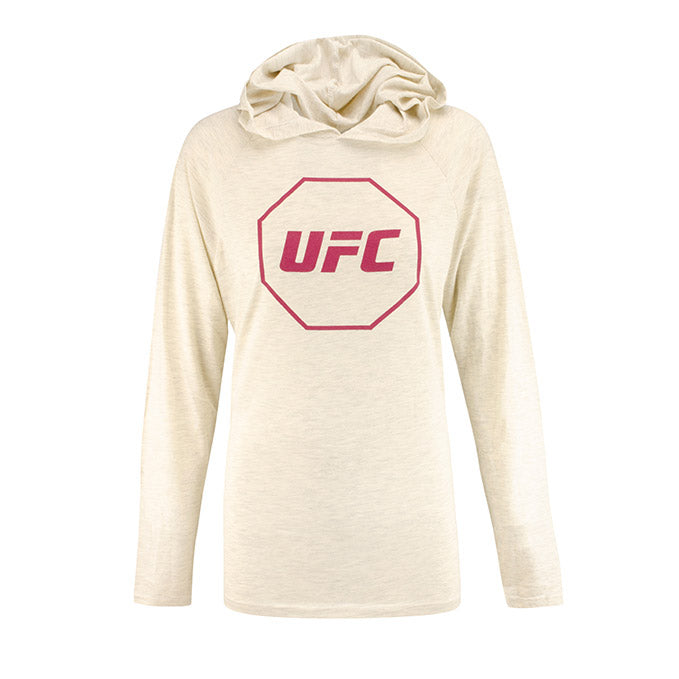 UFC Women's Hooded Long Sleeve T-Shirt - Grey