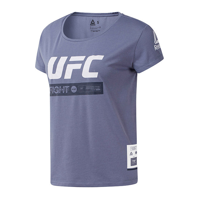 Women's UFC Fan Gear Fight Week T-Shirt - Washed Indigo